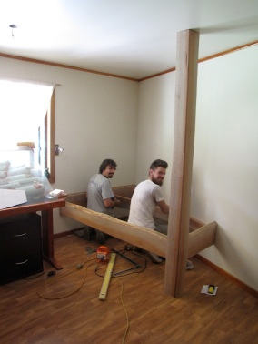 Building the most solid bunk beds in the world!