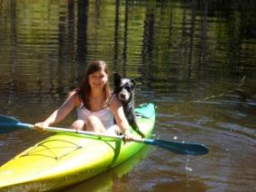 Kayaking with Fee