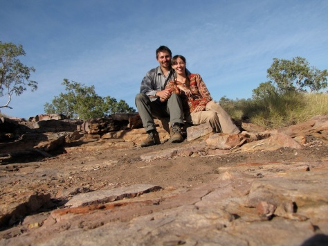 Claire and Marcus hiking in Boodjamulla National Park (Lawn Hill). One of our favourite NP's in Australia :-)