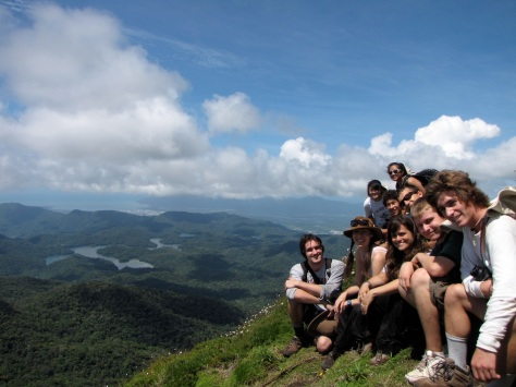Students from Stanford Uni enjoying a day off, hiking in one of our nearby national parks.