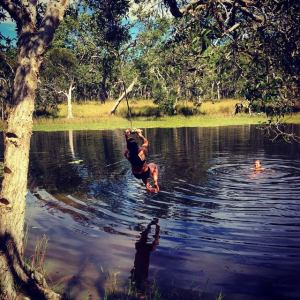 Our favourite swimming spot. :-)