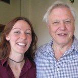 Working with her hero, Sir David Attenborough was a dream job for Dr Claire.