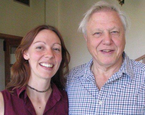 Working with my hero, Sir David Attenborough was a dream job.