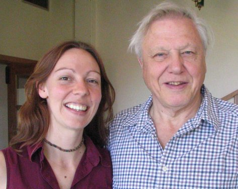 Working with my hero, Sir David Attenborough was a dream job.
