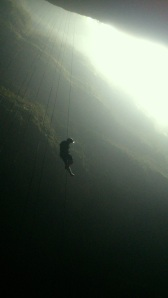 Filming in the Lost World, Waitomo, New Zealand with Waitomo Adventures