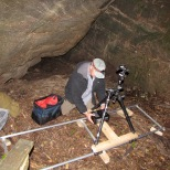 Setting up tracks for filming with Discovery Chanel