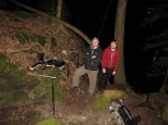 Filming bioluminescent insects in Alabama with Discovery Chanel