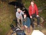 Filming bioluminescent insects in Alabama, USA in 2011 with Discovery Chanel